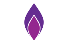 Holocaust Memorial Day candle logo