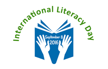 International Literacy Day logo