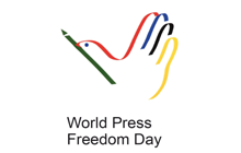 World Press Freedom Day dove logo