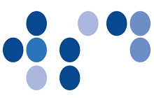 World Sight Day braille logo