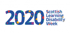 Scottish learning Disability Week logo