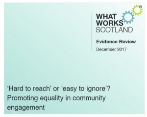Hard-to-reach or easy-to-ignore? A review of evidence about equality in community engagement