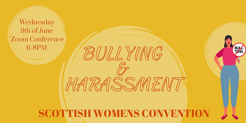 Bullying and harassment Conference poster